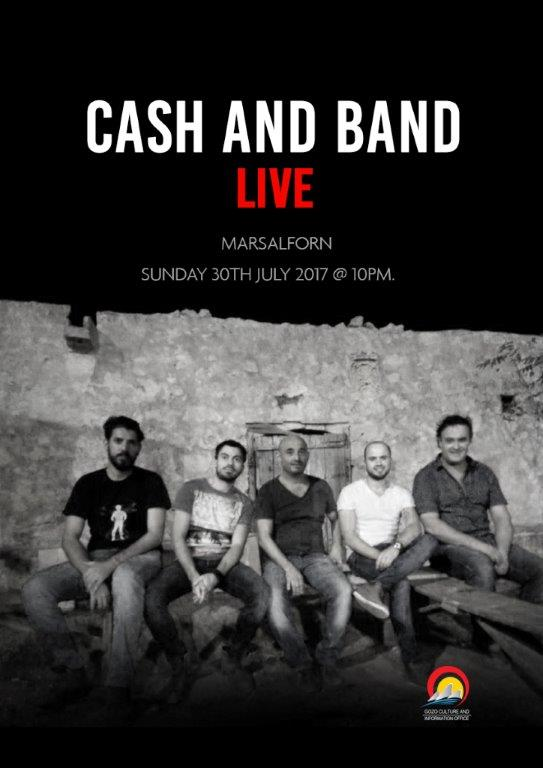 cash and band